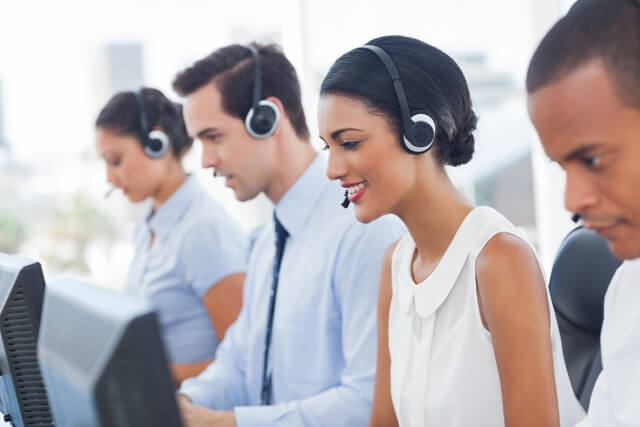 agents in call center smaller